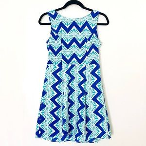 Anthropologie Chevron Dress